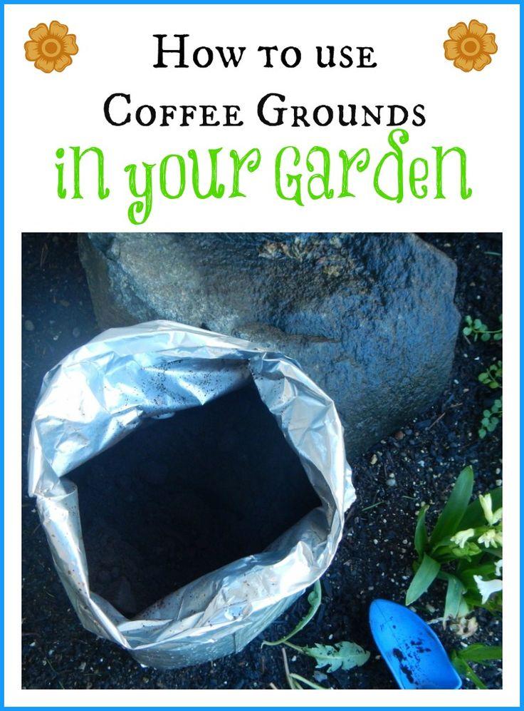 Best 25 Coffee Grounds Garden Ideas On Pinterest Organic Gardening Tips Used Coffee Grounds