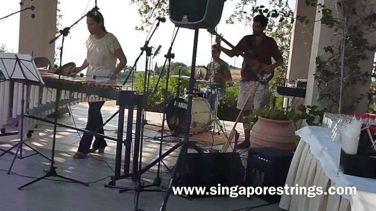 Music entertainment in Kefalonia. Singapore Strings. Get live music on your wedding day