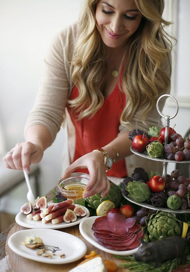 Entertaining with :: Haylie Duff