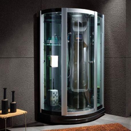 Les 25 meilleures id es de la cat gorie cabine de douche sur pinterest - Cabine de douche noir ...