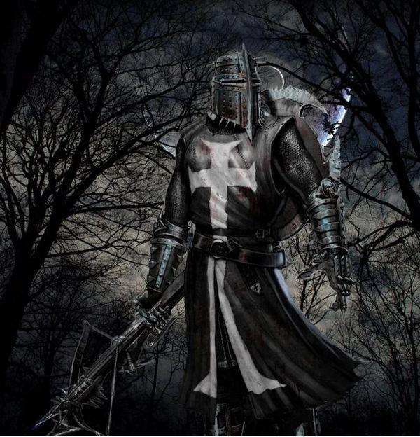 Knight Tattoo Quotes: Black Templar Knight