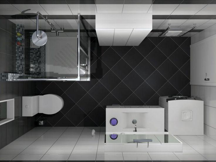 Κάτοψη του μπάνιου. Όλα τα προιόντα έχουν επιλεγεί από το ηλεκτρονικό κατάστημα www.e-bath.net