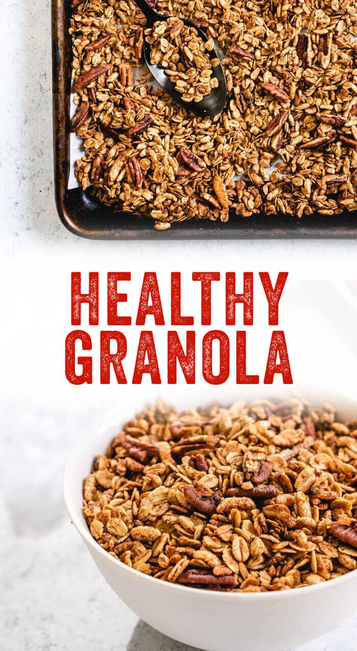 Healthy Granola Recipe That S Actually Good For You Recipe
