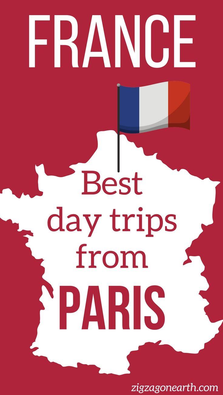 Paris France Travel - 35+ Best Day trips from Paris to charming villages, historical sites, castles, food paradises, wine paradises, Unesco Sites... | #paris | paris pictures | Things to do in Paris