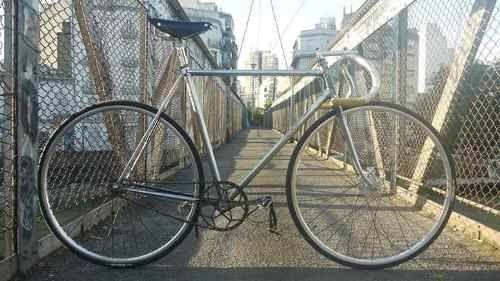 frejus bicicleta de pista antigua carrera bianchi / legnano