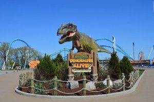 Dinosaurs Alive at Cedar Point