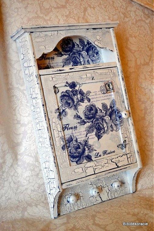 bibidekoracie / Les rosiers-skrinka na kľúče