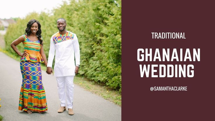 Traditional Ghanaian Wedding in Canada