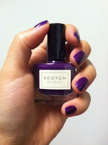 Scotch Naturals nail polish
