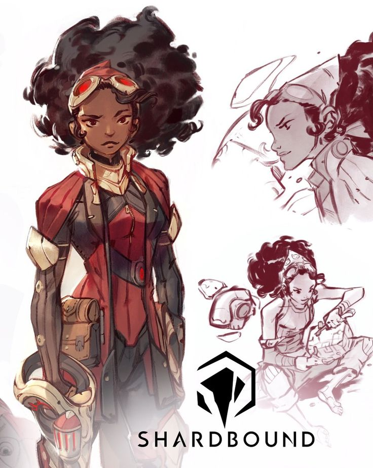 Character Design Exhibition : Best female character reference images on pinterest