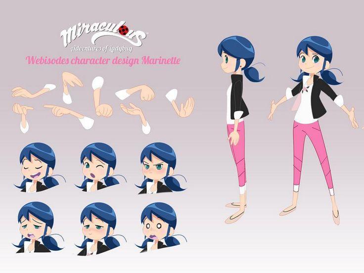 Marinette Webisode Character Design | Miraculous Ladybug | Know ...