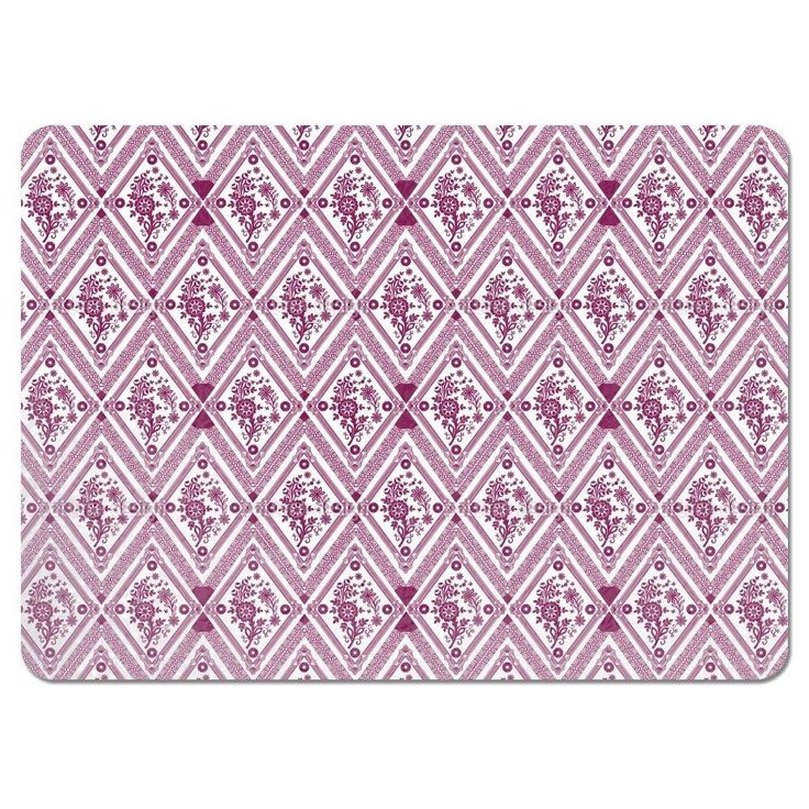 Uneekee Framed Nature Placemats (Set of 4) (Framed Nature Placemat), Multi (Polyester, Floral)