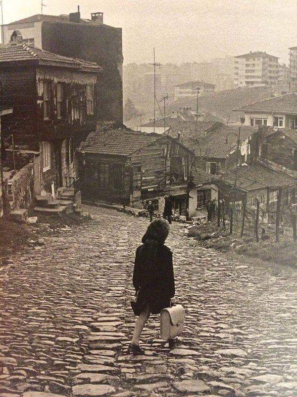 Bülbüldere Caddesi'nin üstü (1975, Eyüp) #birzamanlar #istanlook #nostalji