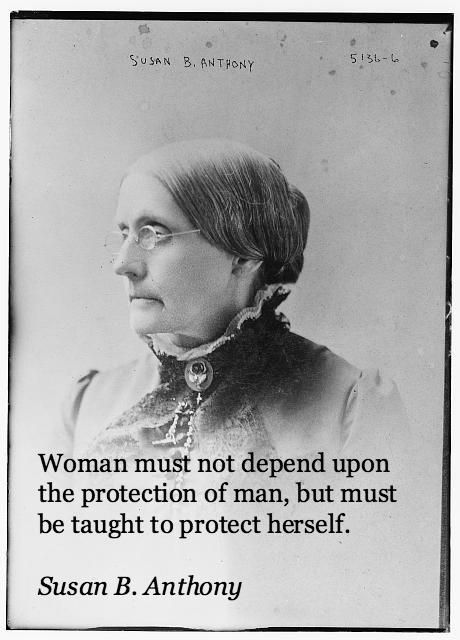Susan B. Anthony was a women's rights advocate, and anti-slavery activist