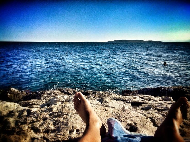 Limanakia beach( nudist section) for an alternative swim!