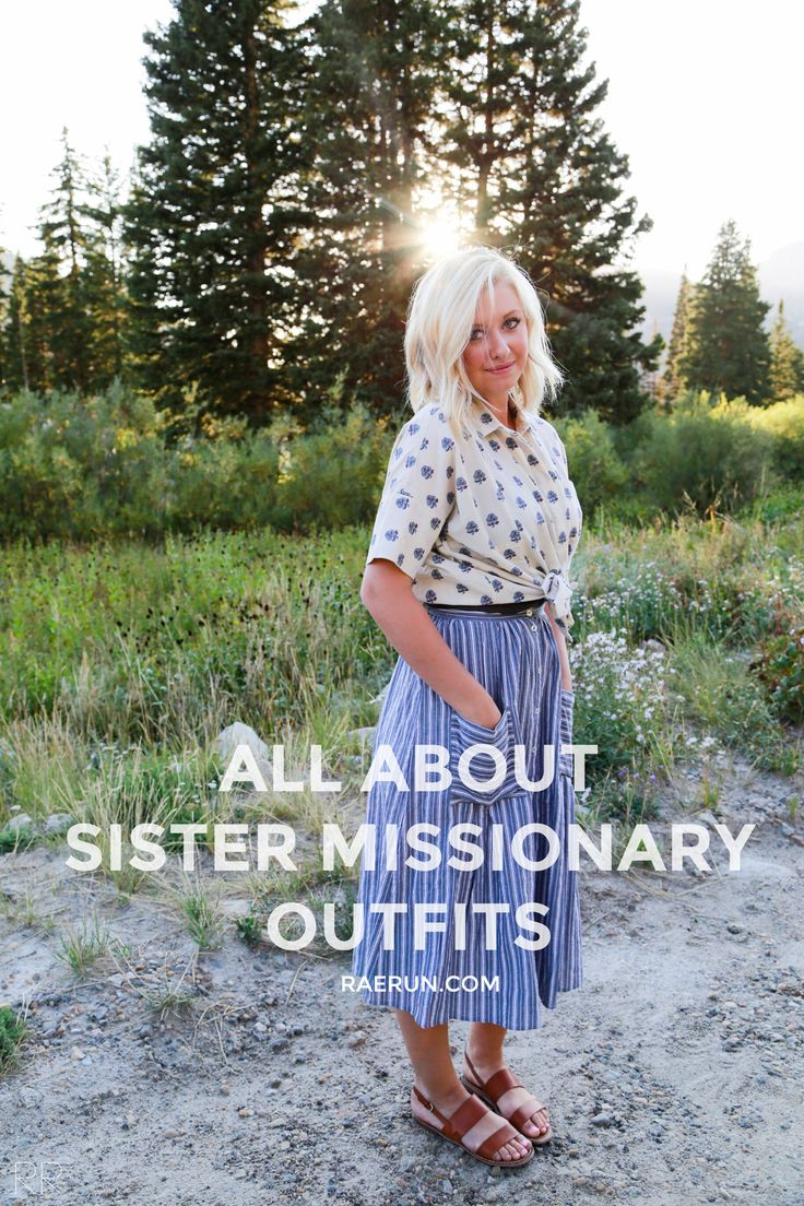 RAERUN all about sister missionary outfits
