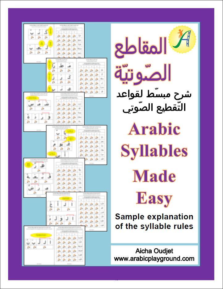 www.arabicplayground.com Arabic Syllables Made Easy by Arabic Playground