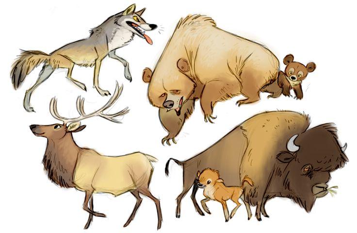 (2015-12) Nordamerikanske dyr