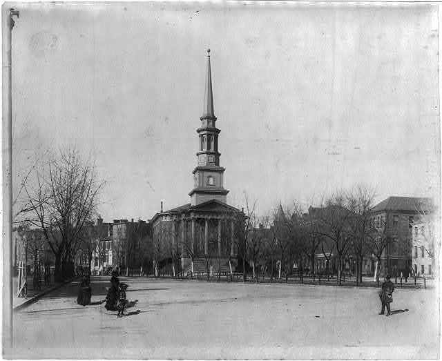 New York Ave. Presbyterian Church, where Lincoln and family attended. Click the image for more Civil War sites of Washington DC.