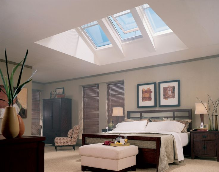 17 best images about skylights on pinterest window for Bedroom skylight