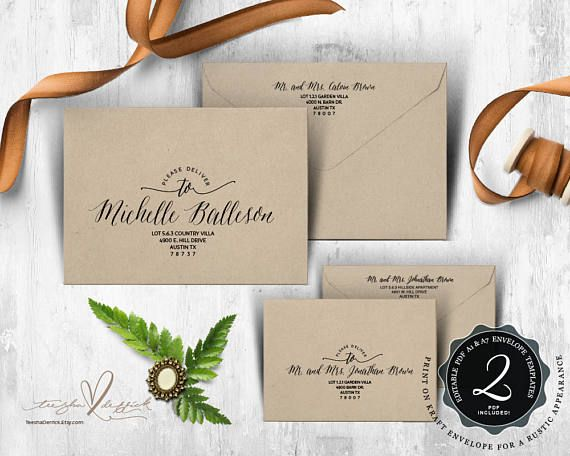 New Wedding Invitation Envelope Template Free Graphics Wedding - Wedding invitation envelope template free
