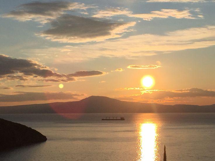 Kitries' gulf sunset