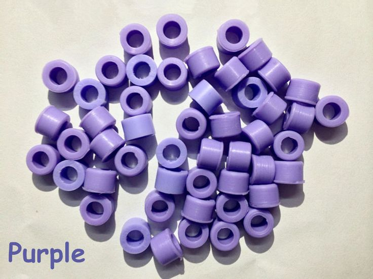 50 Pcs Purple Color Small Type Dental Silicone Instrument Color Code Rings  #UnbrandedGeneric
