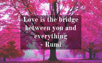 Handserenity #Weekly #Blog, this time inspiration for your day from Rumi…