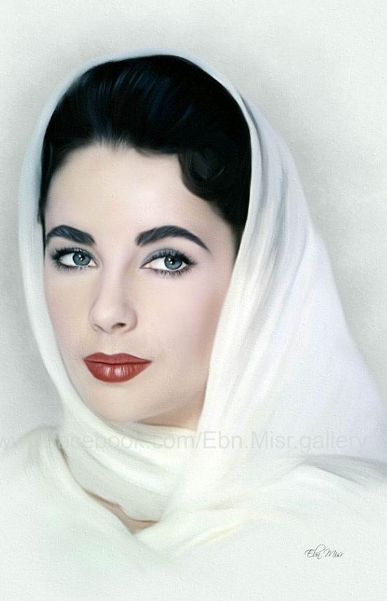 Beautiful Elizabeth ,Ebn Misr Art Gallery , from Iryna