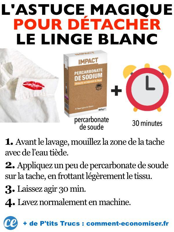 Comment Avoir Du Linge Bien Blanc