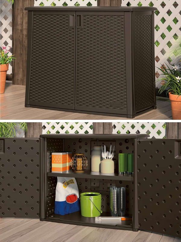 22 Sneaky Storage Solutions For Your Deck Porch Or Patio