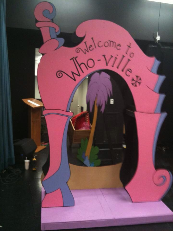 reverse side of movable prop, Seussical
