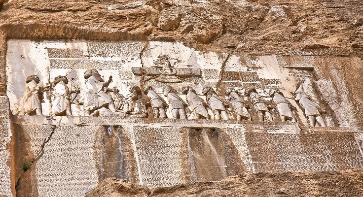 #BistoonInscription engraved in the breast of the mountain in 522 BC by a decree from #Dariush #Bistoon #Kermanshah #Iran #invitationtoiran #Irantraveler #visitiran #gotoiran http://flytogetiran.com/irantours/