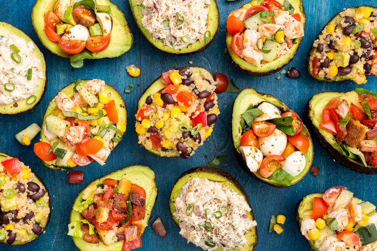 Stuffed Avocados  - Delish.com