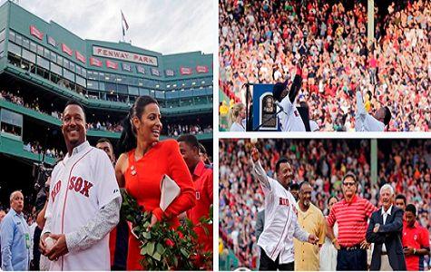 Medias Rojas de Boston retiran el número 45 que uso Pedro Martinez