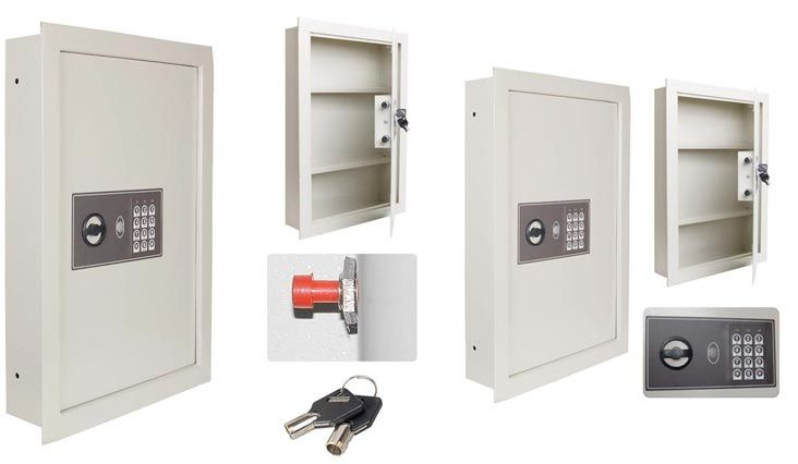 Top 10 Best Wall Safes For Home Use In Review 2018 Wall Safe Cool Walls Home Safes