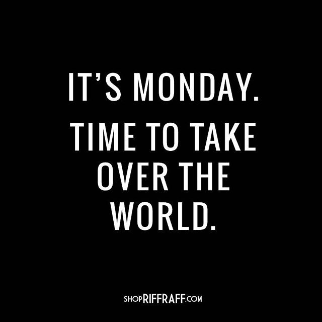 Happy Monday from as all at #100pceffective.