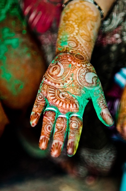 Holi Henna by B.Bubble on Flickr.