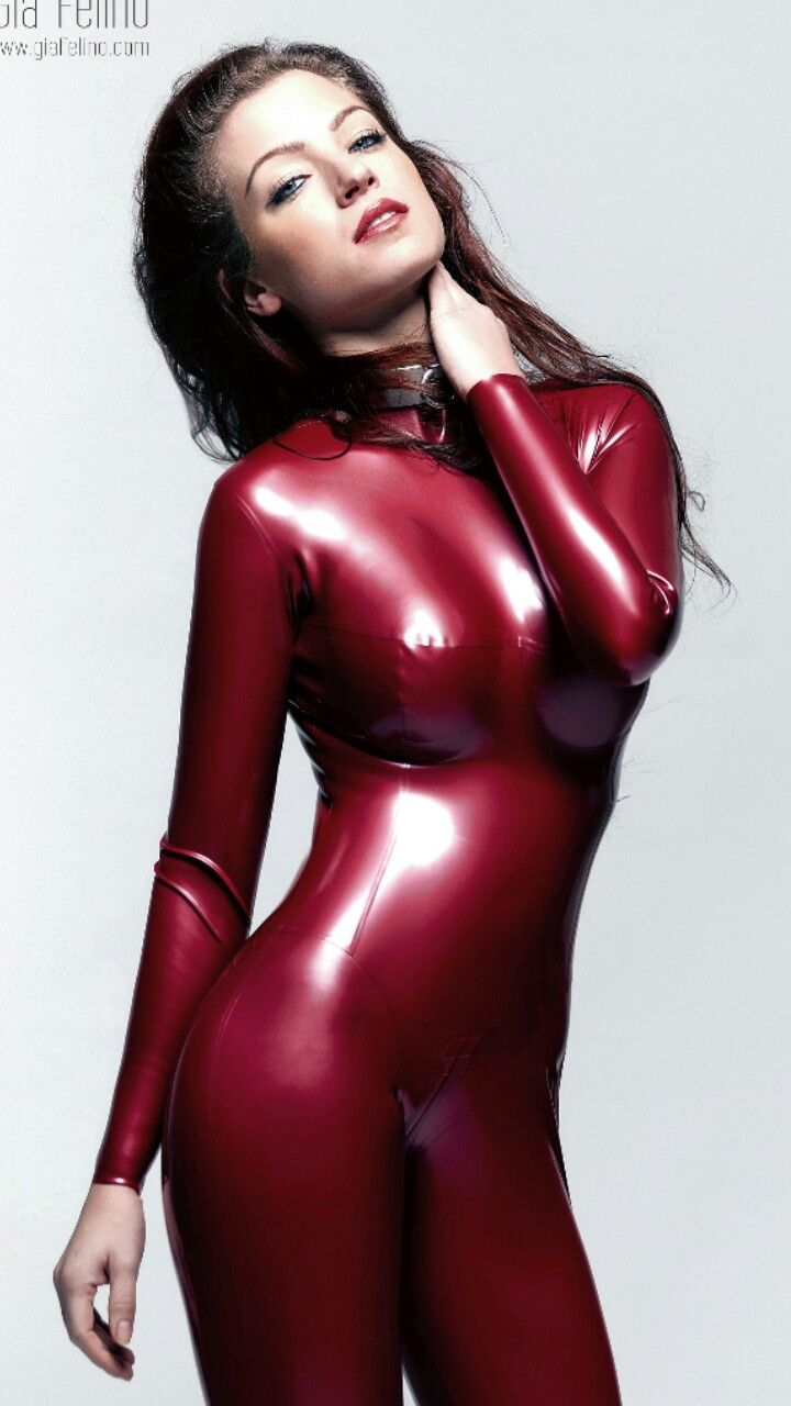 Shiny latex girls
