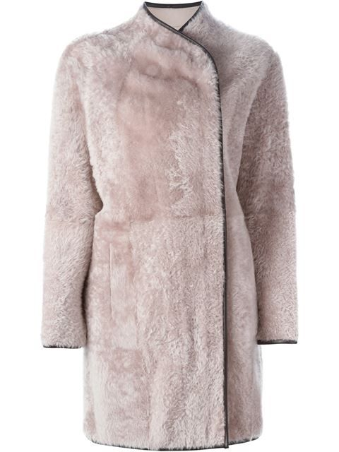 Купить Drome reversible shearling coat  в Gore from the world's best independent boutiques at farfetch.com. Shop 300 boutiques at one address.