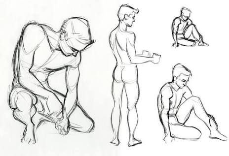 figure poses for drawing - Google Search
