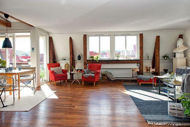 Jurnal de design interior - Amenajări interioare, decorațiuni și inspirație pentru casa ta: Apartament de 82 m² în Göteborg
