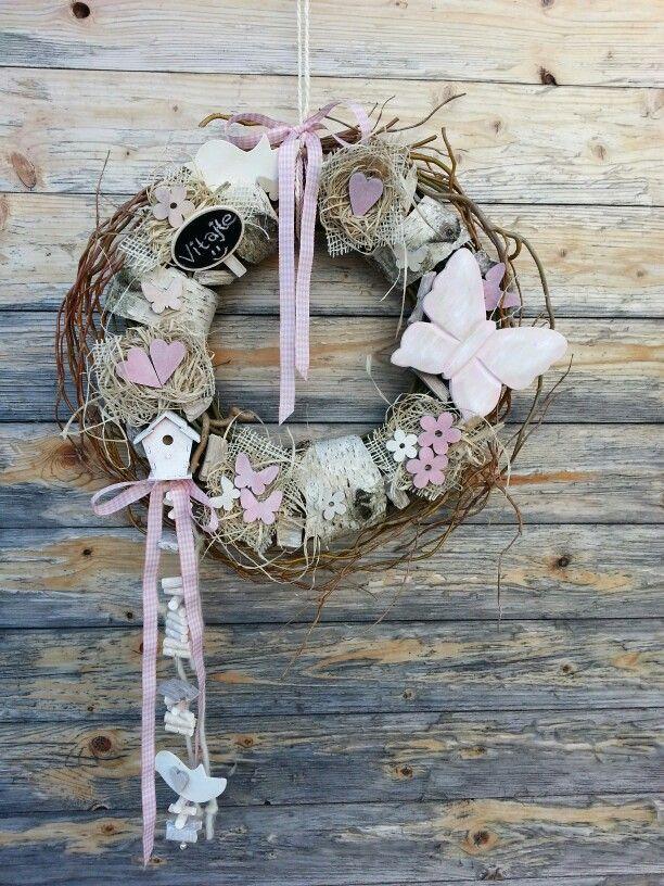 Spring wreath by Z.K.
