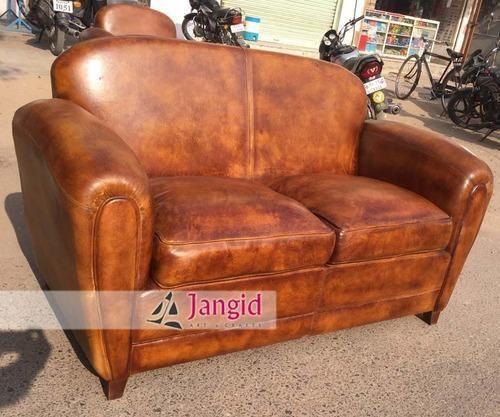 Dresden Victorian Style Bone Velvet Upholstered Living Room Sofa