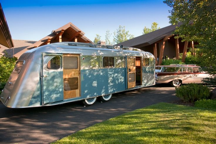 restored vintage travel trailer | Flyte Camp Vintage Travel Trailer Restoration. (Credit: Steve Pierce ...