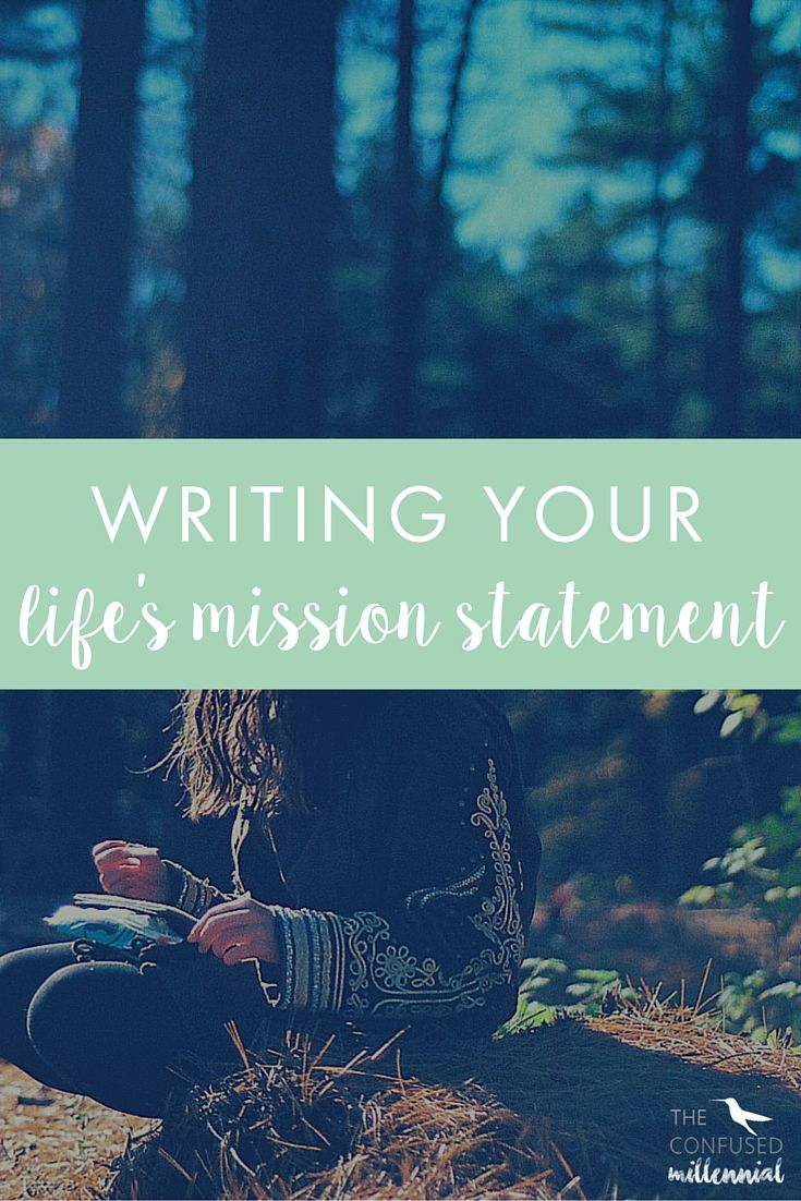 We always hear about writing your business's mission statement, but what about writing your life's mission statement? How can it help you in writing and running your business?
