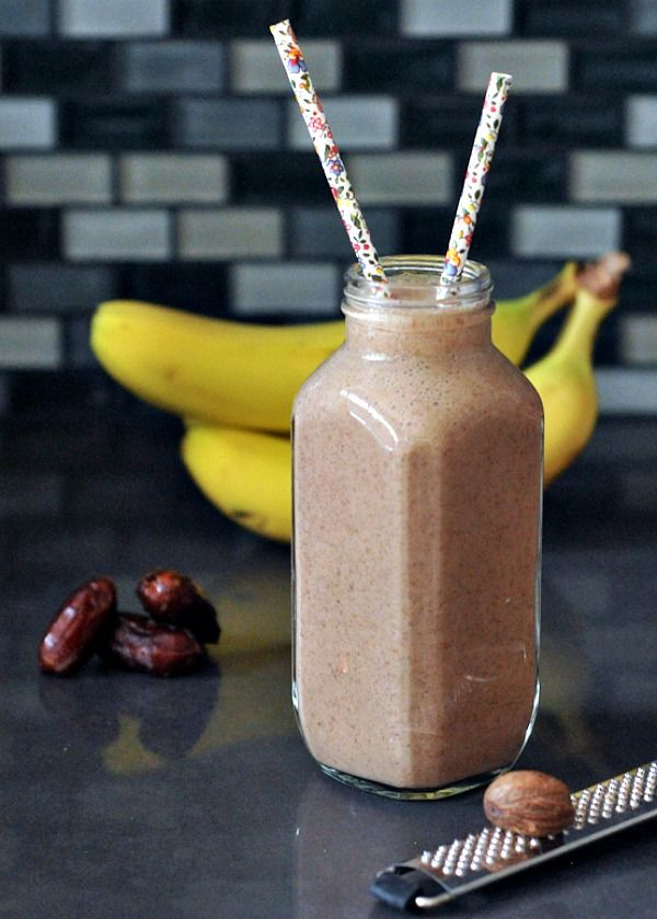 My favorite smoothie from The Blender Girl Smoothies book: Chai Tai Smoothie @theblendergirl @spabettie