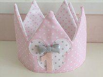 Corona Minnie Rosa Minnie mouse, coronas aniversario, cumple, peques, birthday, fiestas infantiles, disfraces