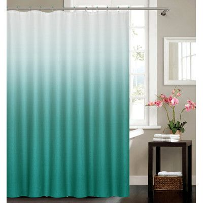 Features:  -Collection: Petersham.  -Material: 100% Polyester.  -Set includes 1 shower curtain and 12 hooks.  Product Type: -Shower curtain.  Material: -Polyester.  Number of Items Included: -13.  Pie