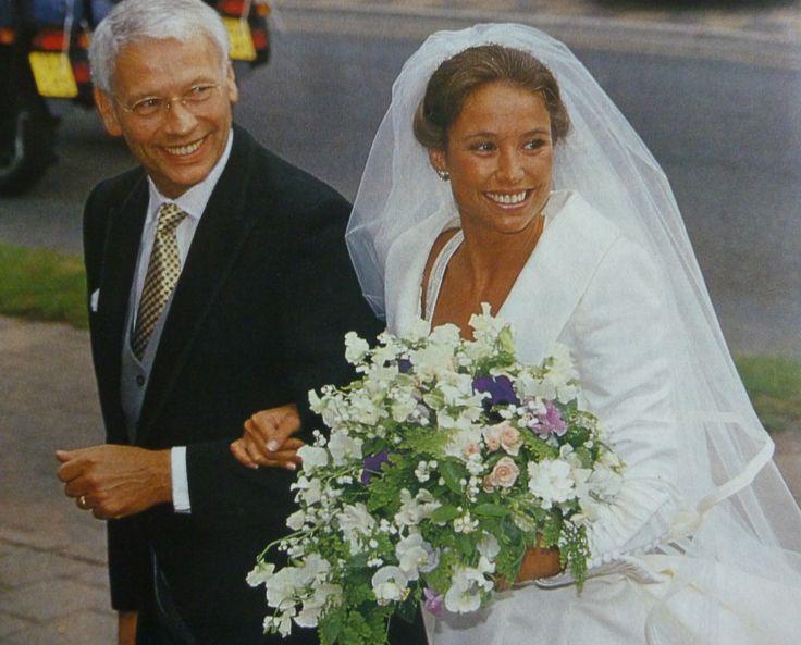 Marilène met haar vader